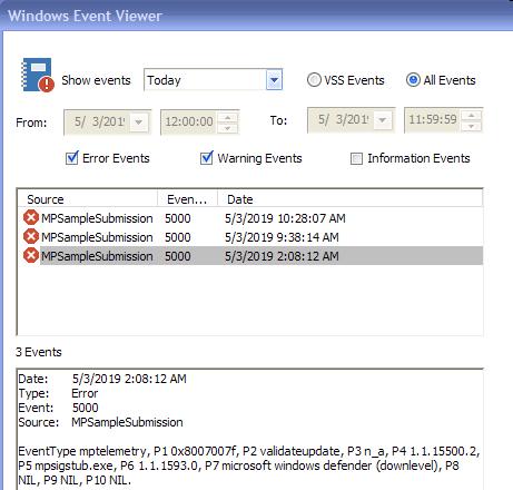 Windows Defender won't update using WEPOS | Windows XP Forums
